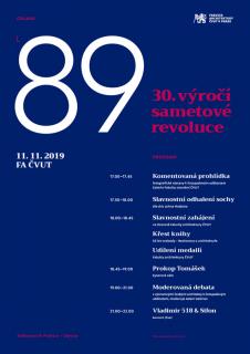 Fakulta architektury ČVUT připomene 17. listopad veřejnou debatou o stavu architektury