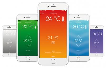 Peletová kamna od firmy HAAS+SOHN můžete ovládat přes aplikaci v mobilu. Stačí si pořídit kamna s WLAN modulem.
