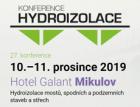 Koná se dvacátá sedmá konference na téma hydroizolace staveb