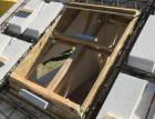 Instalace střešního okna VELUX do masivní střechy Ytong Komfort