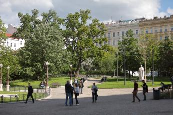 Čelakovského sady Praha, foto Renata Ondroušková