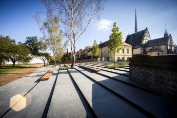 Tyršovy sady Pardubice, foto archiv New Visit a archiv SZÚZ