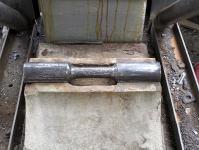 Obr. 16: Kloubové ložisko po očištění s osazeným čepem