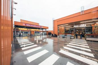 Firma HSF System SK postavila v Prešově nový hobbymarket Hornbach