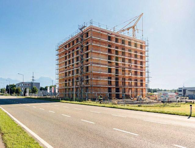 Vícepodlažní budovy z cihelného zdiva v zahraničí