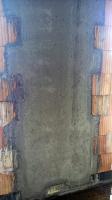Obr. 3: Železobetonový pilíř s bedněním z keramických bloků Porotherm 50 W.i Plan a Porotherm32W.i Plan (rakouská obdoba řady Porotherm T Profi) před betonáží a po ní