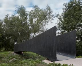 Lávka přes Dřetovický potok (Aoc architekti, 2018)