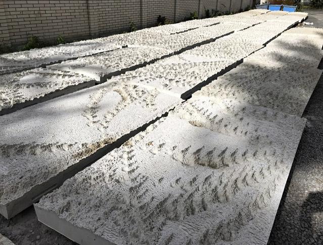 Bílé betony pro obklad výdechu z tunelu Blanka