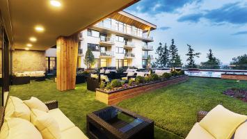 Apartmánový komplex Hrebienok Resort ve Starém Smokovci (foto Hrebienok Resort)