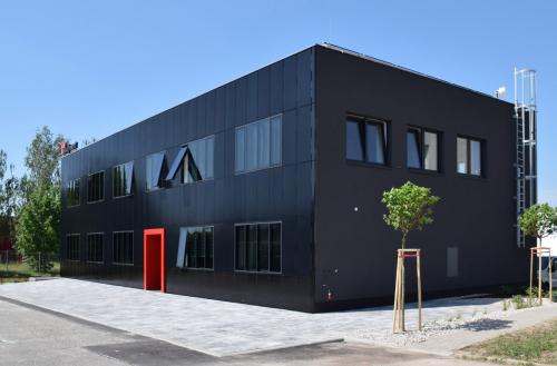 Energeticky aktivní administrativní budova