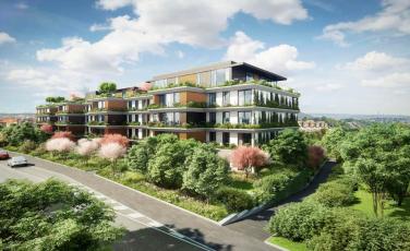 Rezidenční projekt Sakura, vizualizace