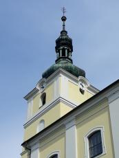 Cemix Cemroll silikát vrátil kostelu ve Velkém Týnci původní vzhled
