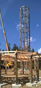 Obr. 7: Konstrukce přilehlého altánu