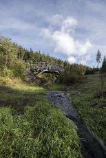 Lávka přes Rennerův potok, Eliščino údolí, foto Martin Čeněk