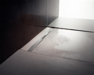 Sprchové žlábky Advantix Cleviva nabízejí špičkový koupelnový design a současně vysoce variabilní použití