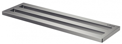 Rošt pro sprchový žlábek Advantix Cleviva je dodávaný ve dvou variantách, a to s jedním nebo dvěma vtokovými otvory s hranatými nebo kulatými konturami