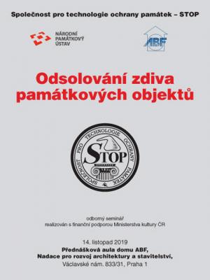 Sborník z konference STOP: Odsolování zdiva památkových objektů