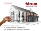 Odborná konference pro projektanty, architekty a stavitele Wienerberger fórum 2020 právě startuje