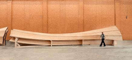 Obr. 8: Spojené trojice konstrukčních prvků s fixovaným tvarem