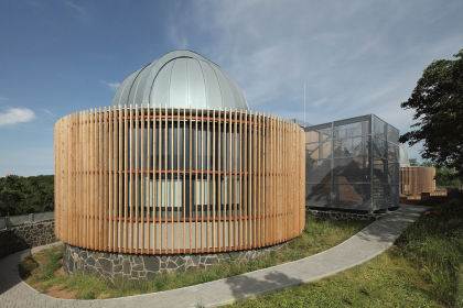 Rekonstruovaná Severočeská hvězdárna a planetárium Teplice