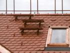 Postup montáže stoupací plošiny do konstrukce střechy