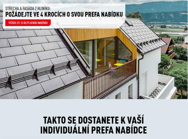 PREFA portál – nová střechařská platforma pro investory i řemeslníky