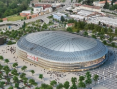 Brno má studii na podobu multifunkční haly, kde bude hrát Kometa