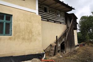 Obnova venkovního schodiště