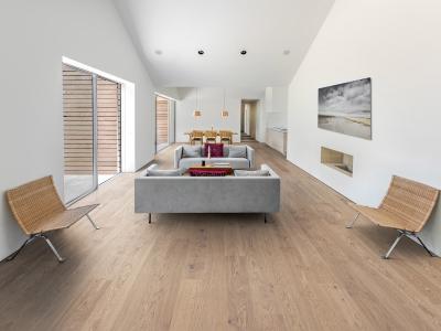Dřevěná podlaha Kährs, kolekce Lux, dekor Dub Coast ultra matný