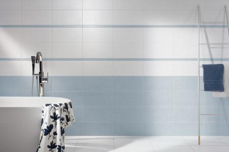 Obklady série Tess vycházejí vstříc moderním trendům – střídmá barevnost, jednoduché geometrické dekory v minimalistickém pojetí