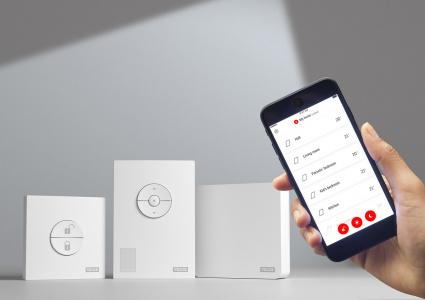 VELUX ACTIVE umožňuje ovládání pomocí senzorů, manuálně nebo smartphonem