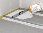 1_Suché podsypy se používají především pro vyrovnání nosného stropu. Stahovací latě zjednodušují zpracování systému.