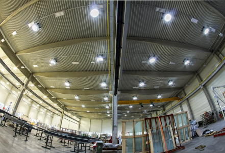 Světlovody Lightway v nové hale společnosti SIPRAL