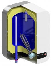 Ohřivač vody TO 10 IN, konstrukce