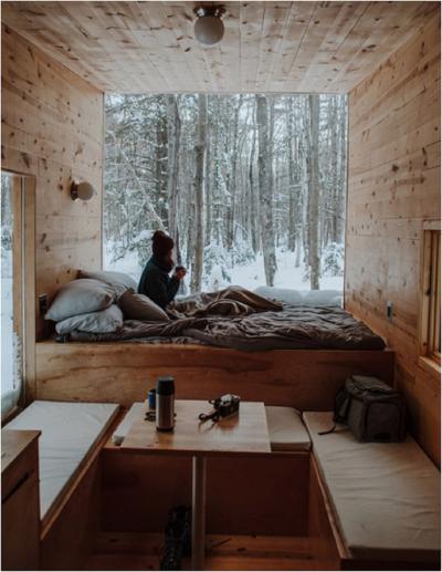 Tiny living – trend malých domečků foto Nachelle Nocom (Unsplash)