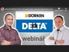 Webinář Dörken: UV záření a jeho důsledky na funkci pojistné hydroizolace