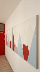 AMF Line Modern Motiv v mateřské škole ve Zlíně