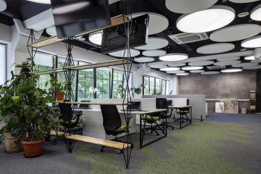 TOPIQ SONIC Element v kancelářských prostorách v Kyjevě