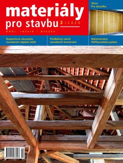 Materiály pro stavbu 2/2020