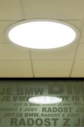 Detail světlovodu Lightway