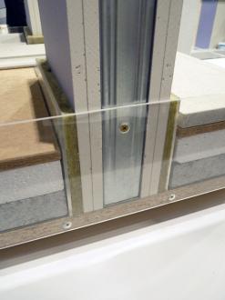 I u Diamantu je třeba stěnu založit pro kvalitní akustiku na hrubou podlahu