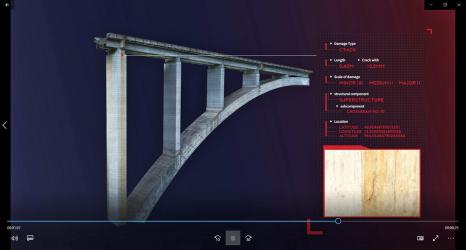 Obr. 9: Databáze poruch a projektu na 3D modelu