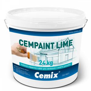 Cemix CEMPAINT LIME – vysoce kvalitní vápenný nátěr určený pro venkovní i vnitřní použití