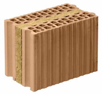 HELUZ AKU KOMPAKT 21 broušená nejen akusticky izoluje (vzduchová neprůzvučnost Rw = 57 dB), ale má lepší i tepelněizolační vlastnosti