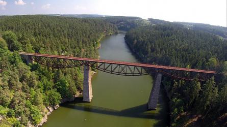 Rekonstrukce železničního mostu trati Pňovany–Bezdružice