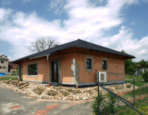 Rodinný dům z páleného zdiva KMB PROFIBLOK