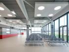 Dnes nejdůležitější místo v Jihočeském kraji – nový terminál jihočeského letiště s obklady RAKO