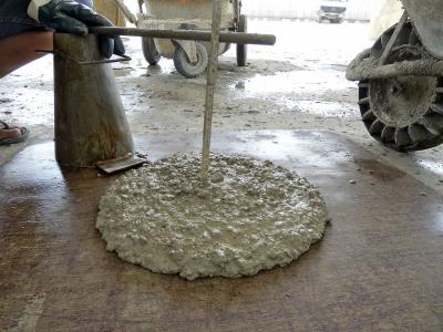 Obr. 5: Výroba a kontrola vlastností specifikovaného betonu
