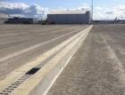 Letiště v Rize odvodňují žlaby pro zatížení až F900 kN