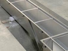 Nerezové odvodnění MEA ve stáčírně nápojů Bonny